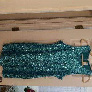 Aqua Ali Ro Sequin Dress
